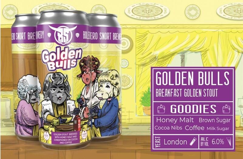 Golden Bulls 4pk