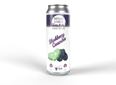 Broad St Blackberry/Cucumber 6pk