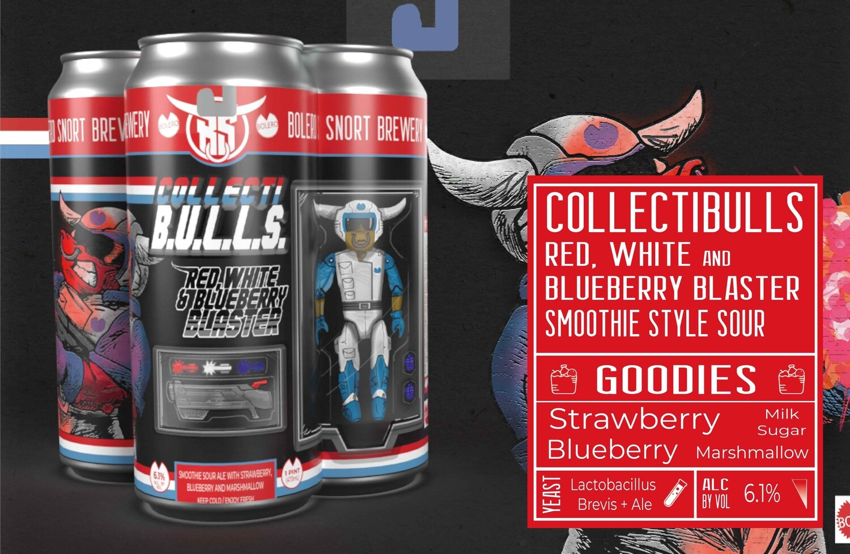 Collectibulls: Red, White And Blueberry Blaster