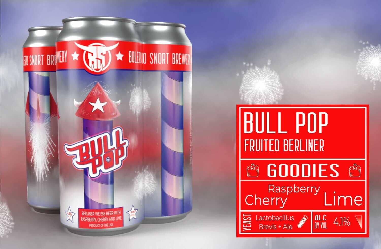 Bull Pop Berliner 4pk