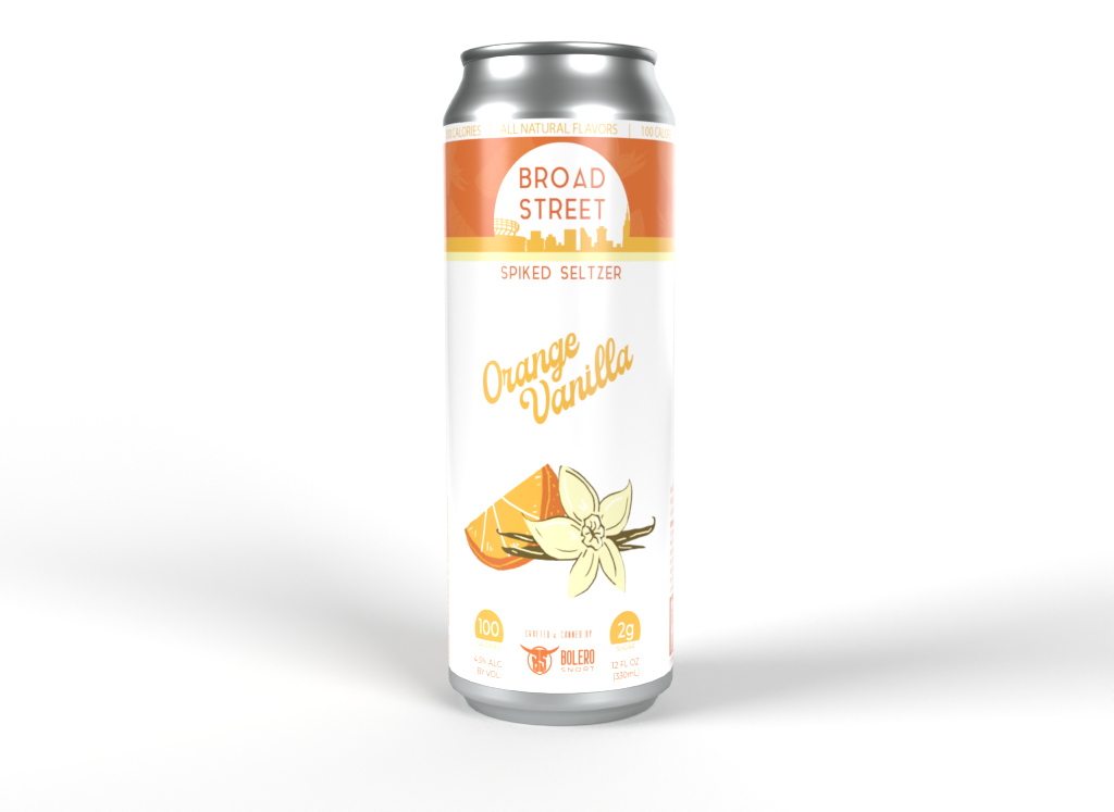 Broad St Orange/Vanilla 6pk