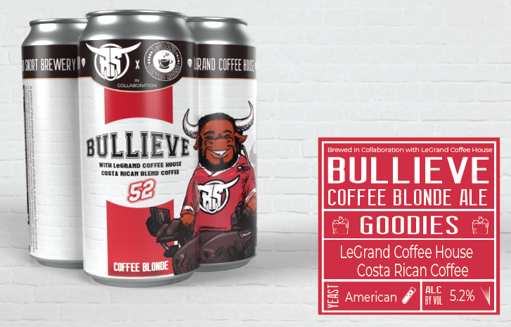 Bullieve Collab 4pk + 12oz Coffee