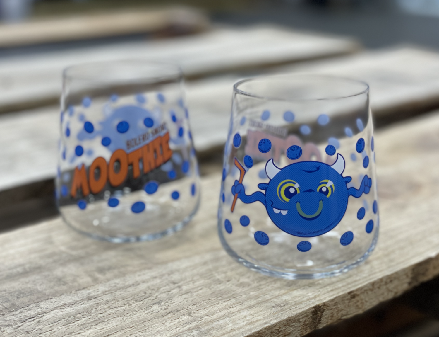 Moothie: Blueberry Collectible Tumbler
