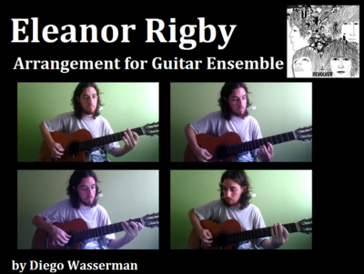 Eleanor Rigby - Guitar Ensemble Arrangement