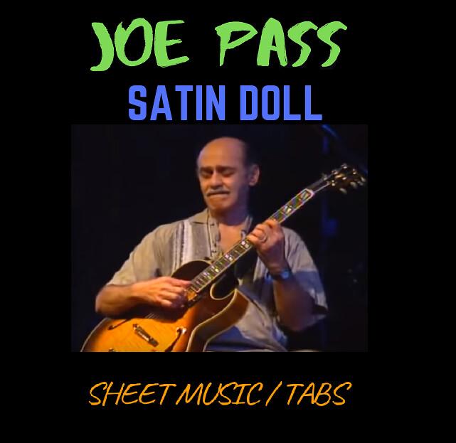 Joe Pass - Satin Doll (Transcription)