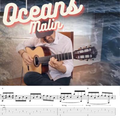 Malin - Oceans (Ac Guitar TABS)