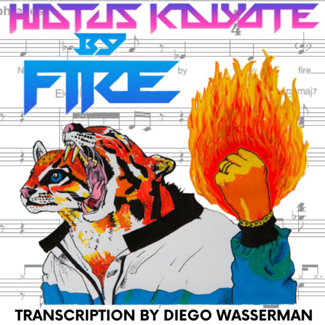 By Fire - Hiatus Kaiyote (Transcription)