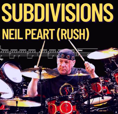 Rush - Subdivisions (Drum Score)
