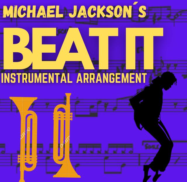 Michael Jackson - Beat It (Instrumental arrangement)