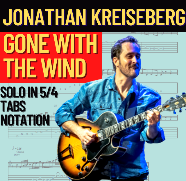 Jonathan Kreisberg - Gone with the wind (Transcription)