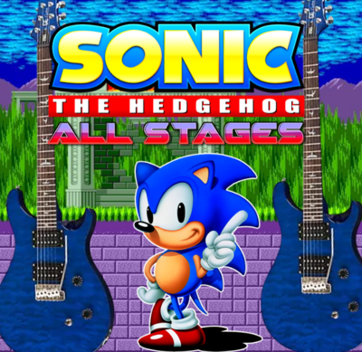 Sonic The Hedgehog - Two Guitars All Stages