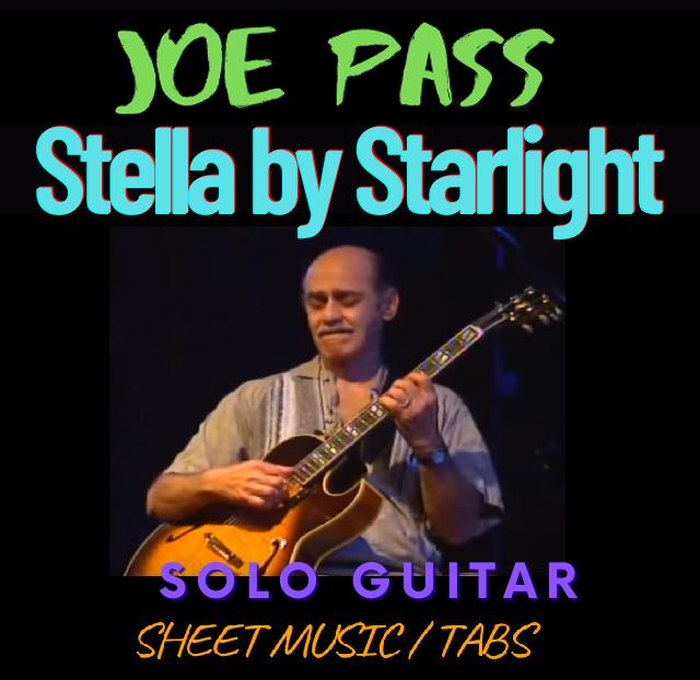Joe Pass - Stella by Starlight (Solo Guitar)