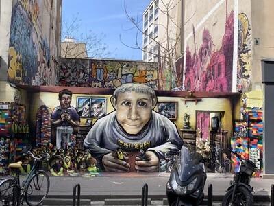 Street Art Tour : Carte cadeau , gift card
