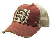 Trucker Hat Drunk Wives Matter