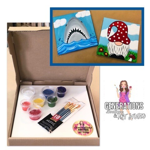 Paint Kit Shark and Gnome