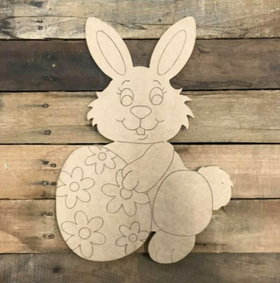 Paint by Line Easter Bunny 10