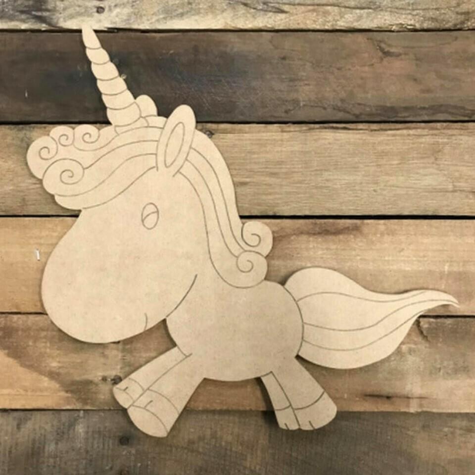 Paint by Line Unicorn 10