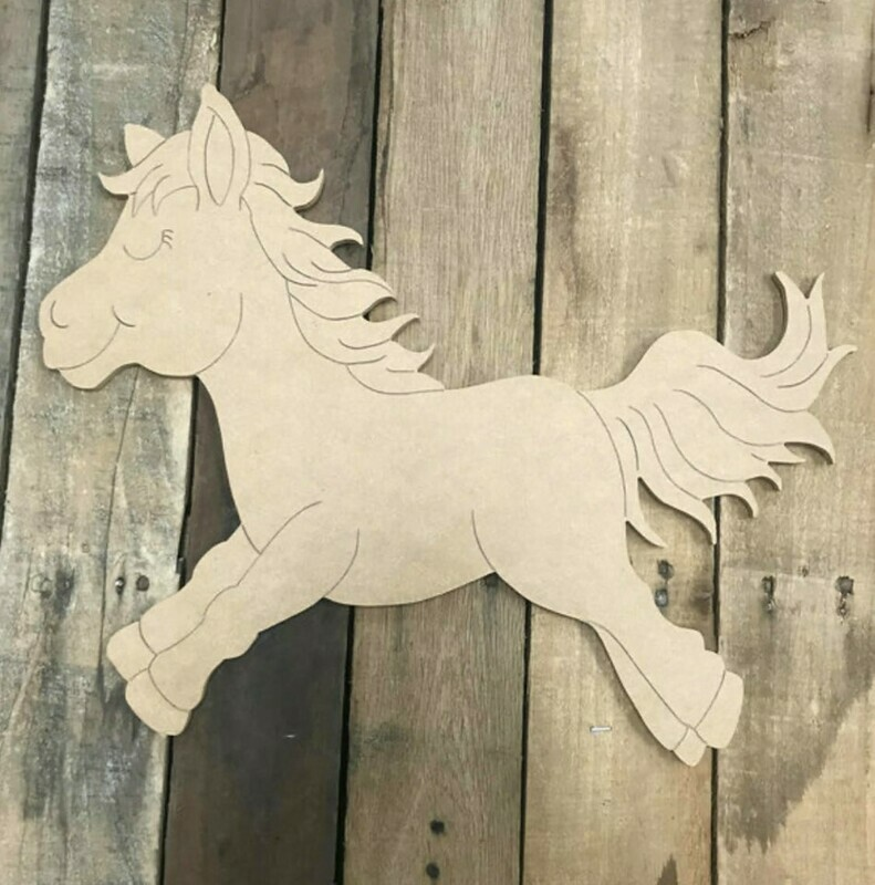 Paint by Line Horse 10