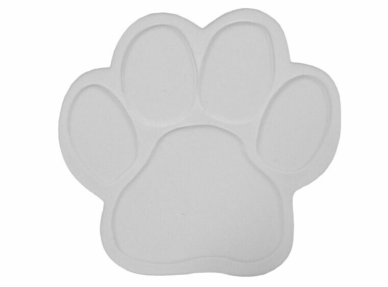 Paw Print Tile Plaque