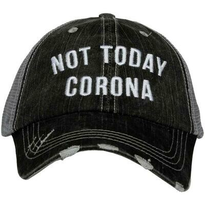 Trucker Hat Not Today Corona