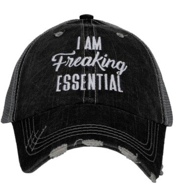 Trucker Hat I am Freaking Essential