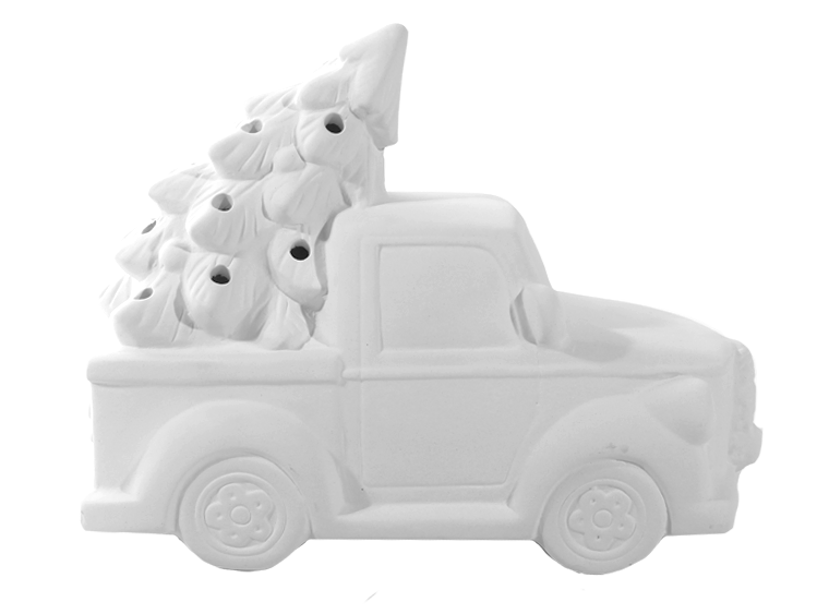 Truck with Tree
