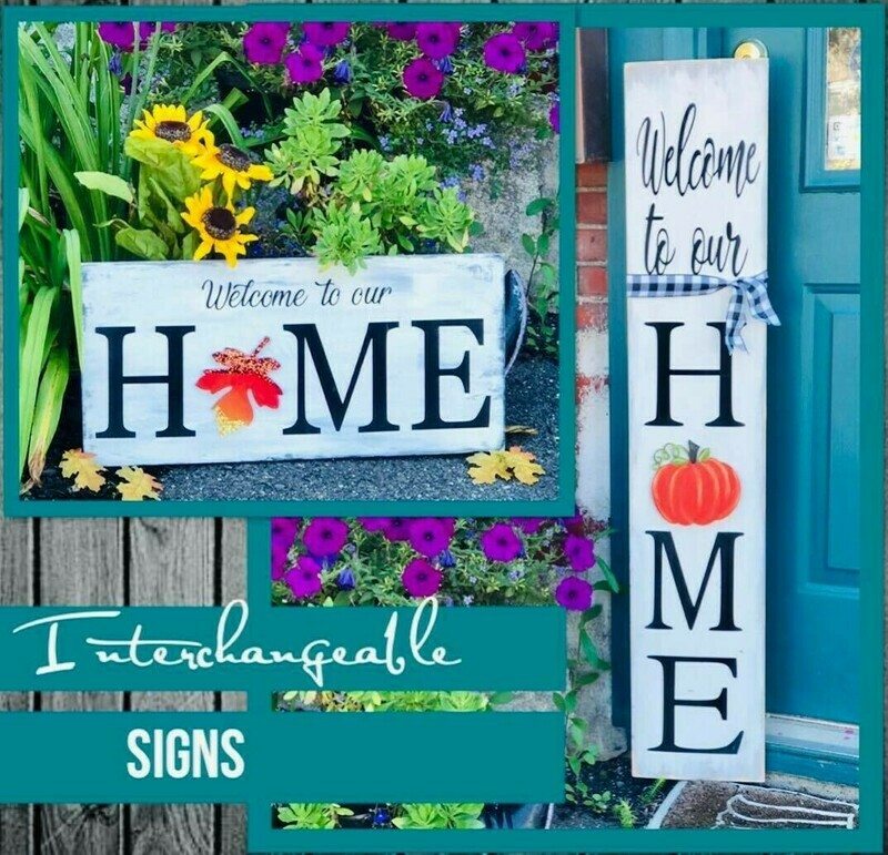 Interchangeable HOME Signs TAKE HOME KIT