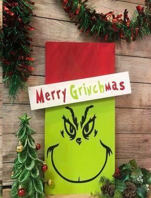 Merry Grinchmas TAKE AND MAKE KIT
