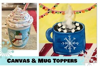 Canvas and Mug Toppers Kit