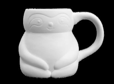 Get Sippin' Sloth Mug