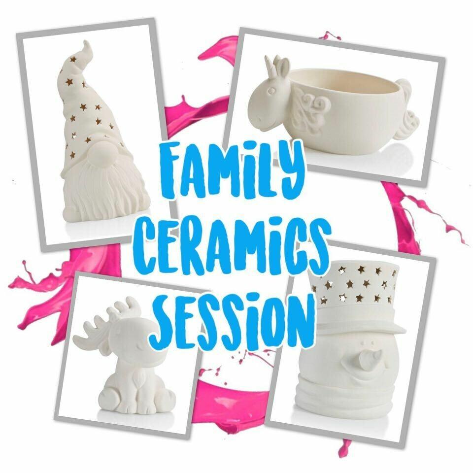 MLK Day Ceramics Studio Session 1 January 18th