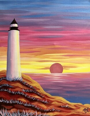 Lighthouse Paint and Sip