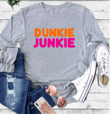 Dunkin Junkie Graphic Long Sleeve