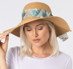 Island Breeze Sunhat with Scarf