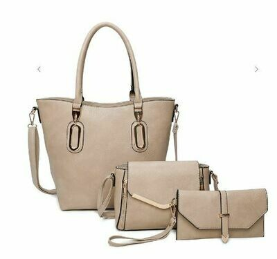3 in 1 Tote Crossbody & Clutch Set