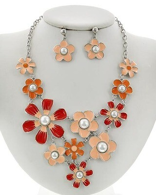 Floral Necklace Sets