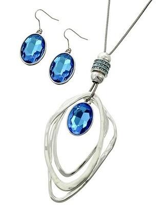 Blue Sone Jewelry Set