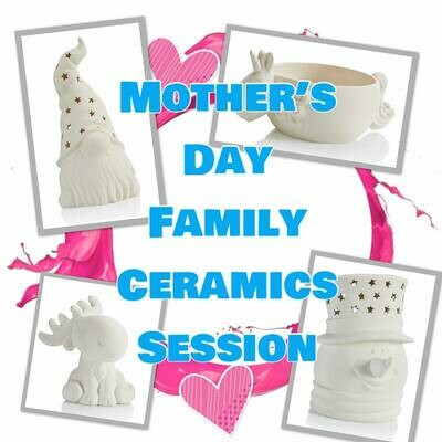 Mother's Day Family Ceramics Session