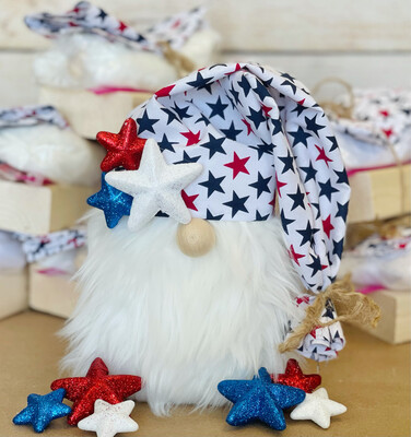 Gnome Making Kit Patriotic