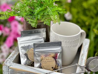 SPILL THE TEA SIS APOTHECARY Loose Organic Teas 3  Flavors