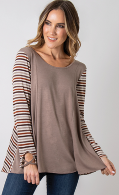 Crossing The Line Tunic (3 colors)