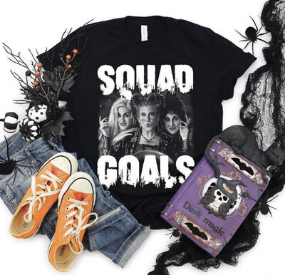 Squad Goals Hocus Pocus Graphic Tee