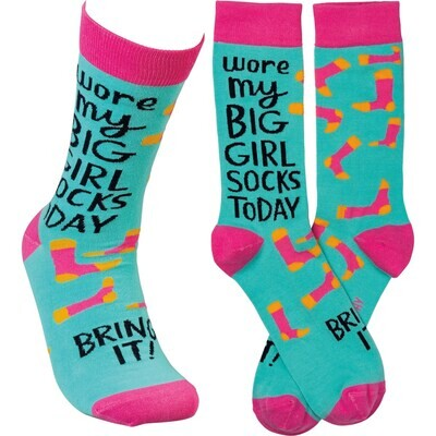 Snarky and Sweet Socks 7 Styles