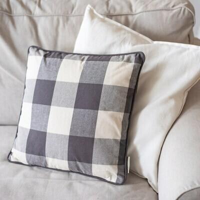 Pillow - Grey Buffalo Check