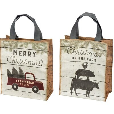 Daily Tote - Truck - Christmas On The Farm