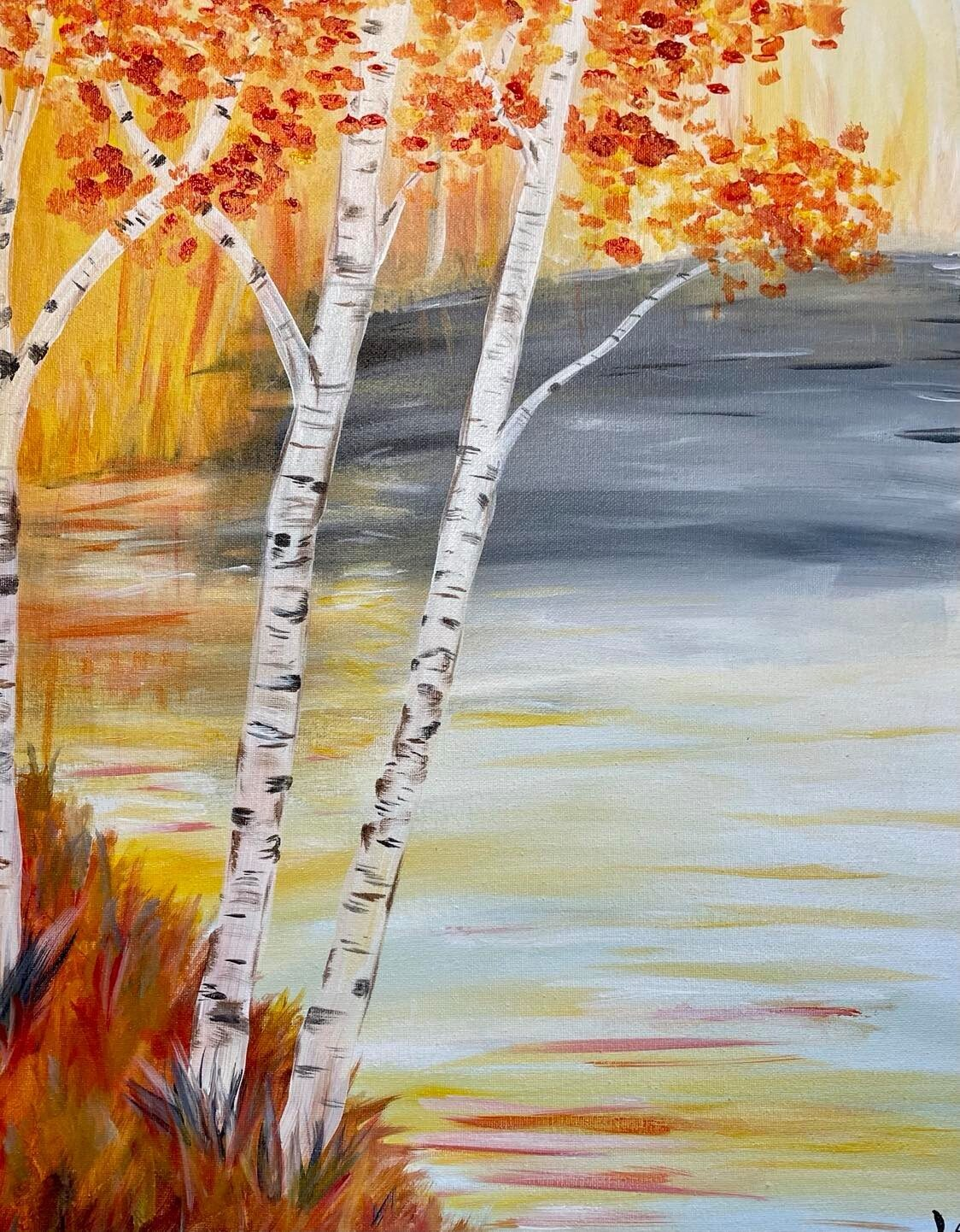 Colors of Fall Paint & Sip