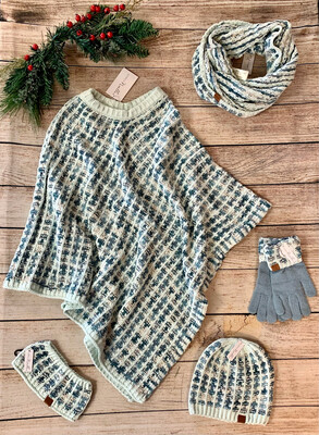 Country Poncho 2 Colors