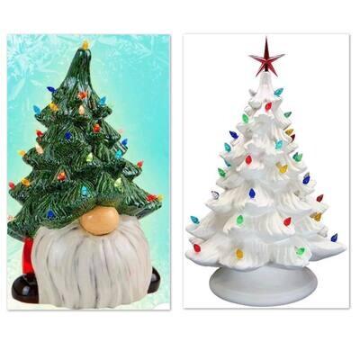 Vintage Ceramic Tree and Gnome Tree Paint Session November 27th