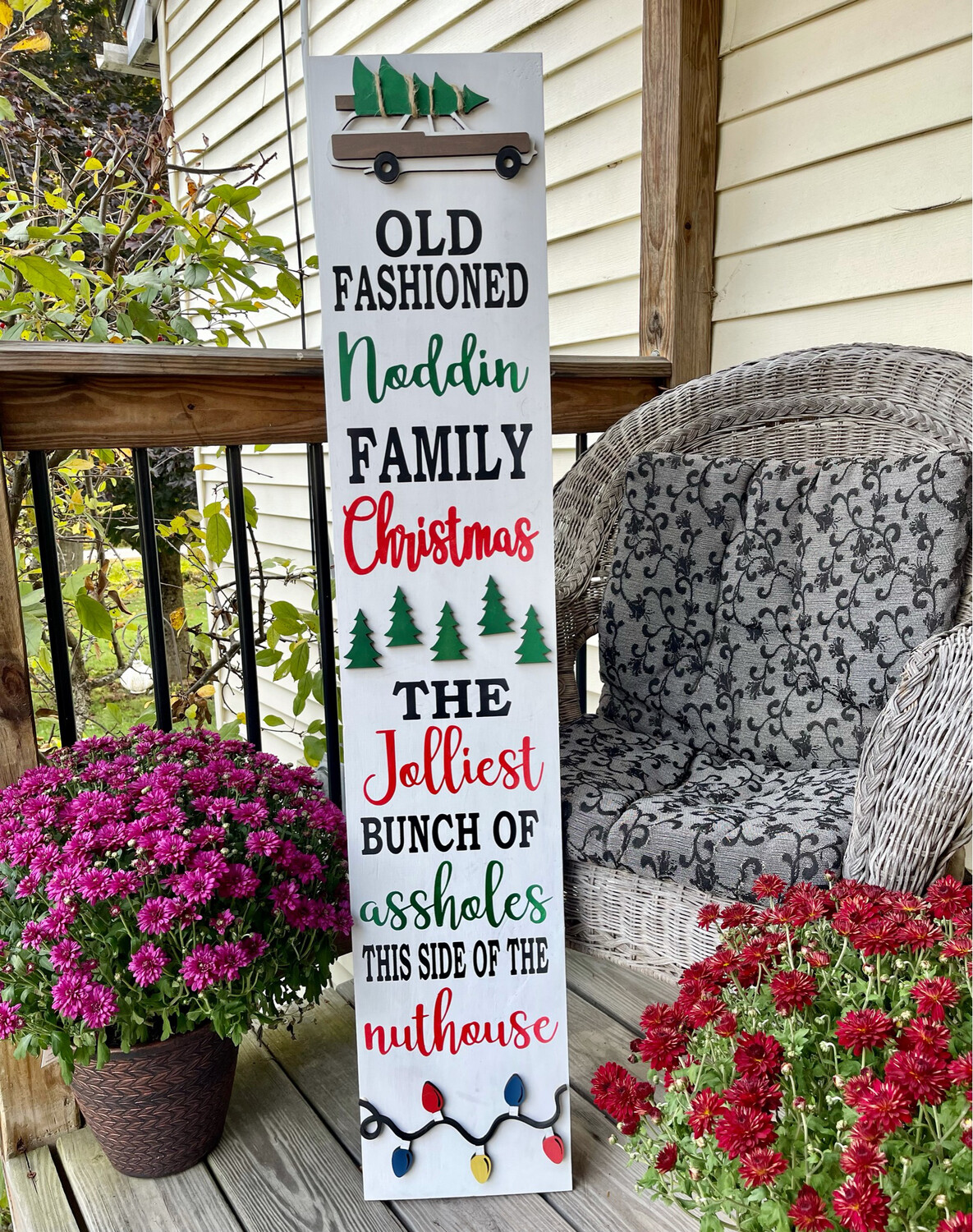 Griswolds National Lampoons Christmas Vacation Porch Sign IN STUDIO Oct 28th