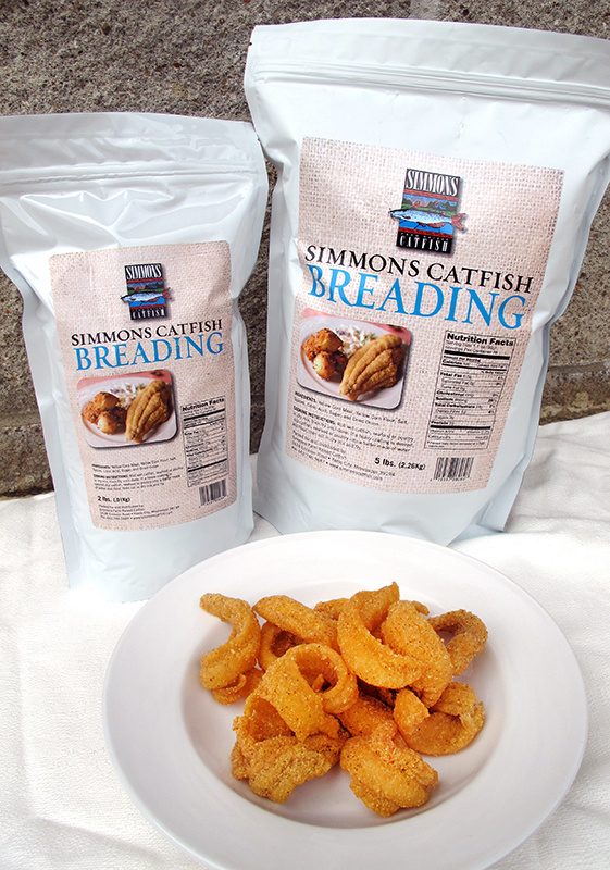 Simmons Seafood and Poultry Breading 5 lb. Bag